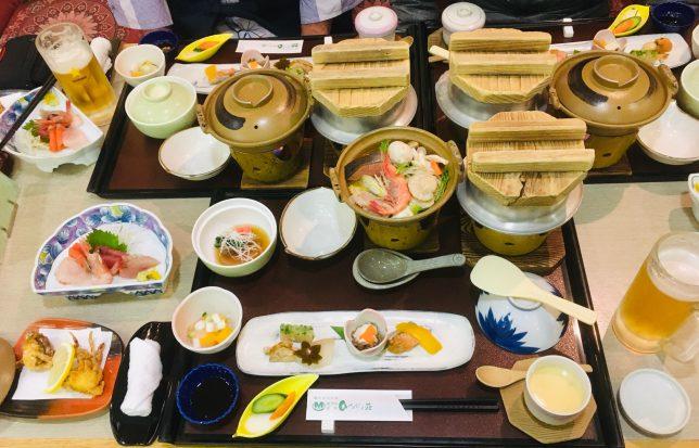ホテル函館ひろめ荘の夕食